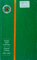 1991-1993 Florida A&M University General Catalog.