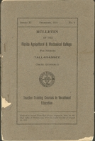 Bulletin Catalogue of the Florida State Normal and Industrial College