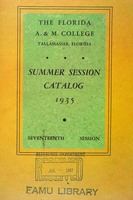 1935 Catalog 17th Summer Session.