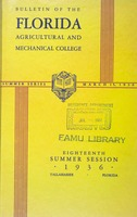1936 Catalog of the 18th Summer Session