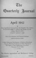 Quarterly journal - Florida Agricultural and Mechanical University, Tallahassee