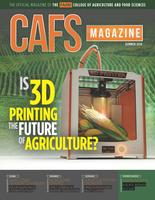 CAFS Magazine 2018 Summer: The Official Publication of the College of Agriculture and Food Sciences