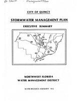 City of Quincy Stormwater Management Plan, Executive Summary, Water resources assessment ; 94-2