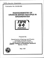 Radiochemistry of uranium-series isotopes in groundwater