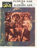FAMU Official Program, November 9, 1974