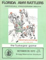 FAMU Official Program, October 28, 1972