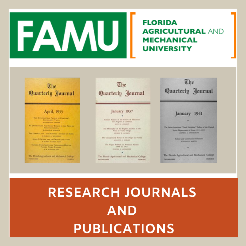 FAMU Research Journals and Publications