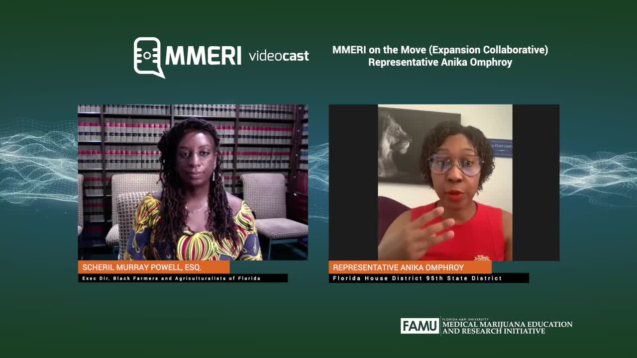 Videocast MMERI 04/29/2020 Rep. Anika Omphroy