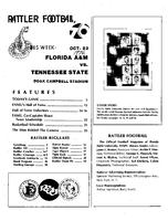 FAMU Official Program, October 23, 1976