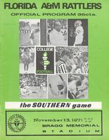 FAMU Official Program, November 13, 1971