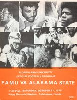 FAMU Official Program, October 11, 1975