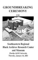 Groundbreaking Ceremony for Southeastern Regional Black Archives Research Center
