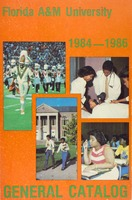 1984-1986 Florida A&M University General Catalog