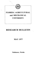 Research bulletin - Florida Agricultural and Mechanical University