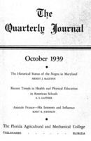 Quarterly journal, Vol. 8, No. 4, October 1939