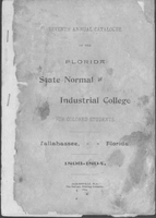 1893-1894 Seventh Annual Catalogue ; Florida State Normal and Industrial College for Colored Students