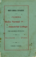 1895-1896 Ninth Annual Catalogue of Florida State Normal and Industrial College for Colored Students
