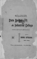 1891-1892 Fifth Annual Catalogue Florida State Normal and Industrial College for Colored Students