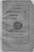 1894-1895 Eighth Annual Catalogue Florida State Normal and Industrial College for Colored Students