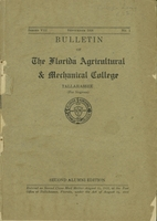 1916 Bulletin of Florida Agricultural and Mechanical College : Second alumni edition