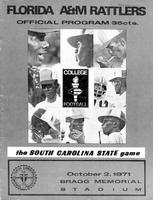 FAMU Official Program, October 2, 1971