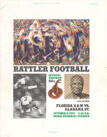 FAMU Official Program, October 6, 1973