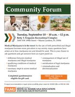 09-10-19 Community Forum Flyer Miami (English)
