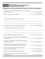 MMERI Event Survey (in SPANISH)