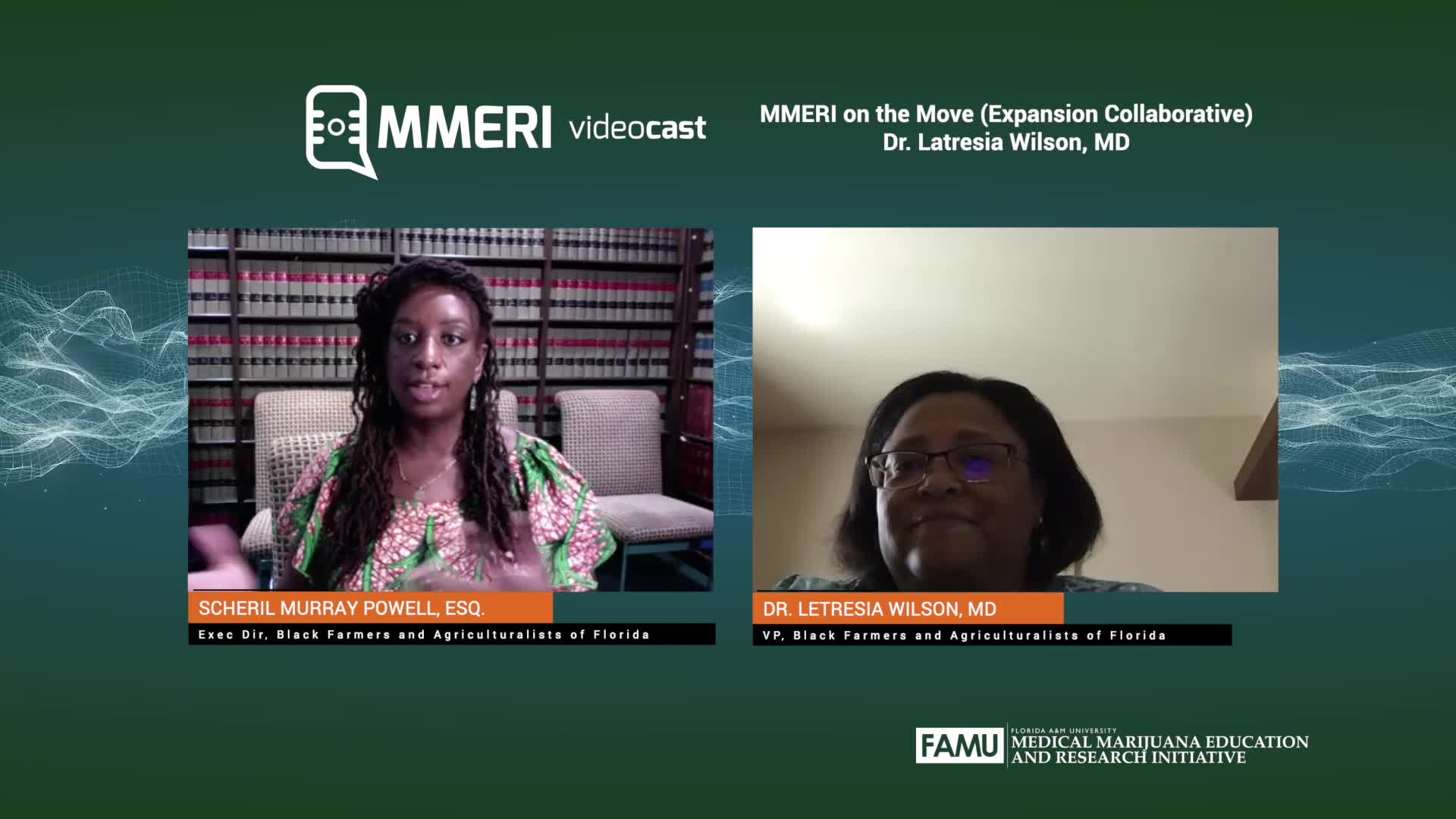 Videocast MMERI 04/29/2020 Dr. Letresia Wilson, MD
