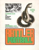 FAMU Official Program, December 1, 1973