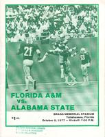 FAMU Official Program, October 8, 1977