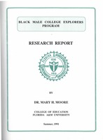 Black Male College Explorers Program: research report. (Summer 1991)