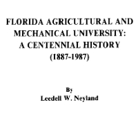 FAMU Centennial History